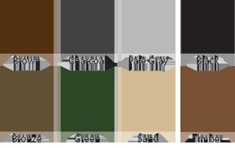 Gutter Helmet Colors