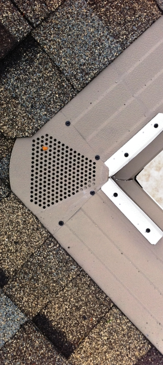 Gutter cleaning made easy with gutter helmet from wrightway for Gutter helmet