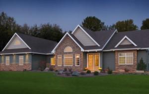Exterior stone facade design Project
