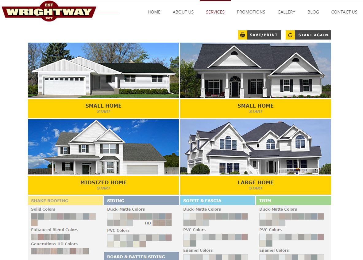 Color Tool Screenshot Wrightway Home Improvements