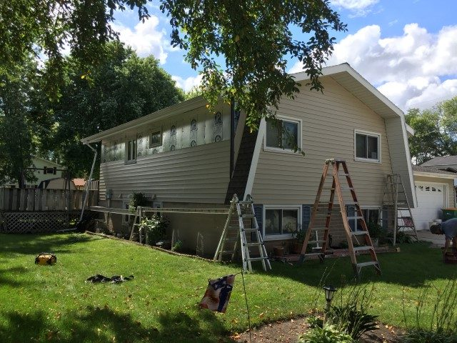 ABC Siding Project in Progress
