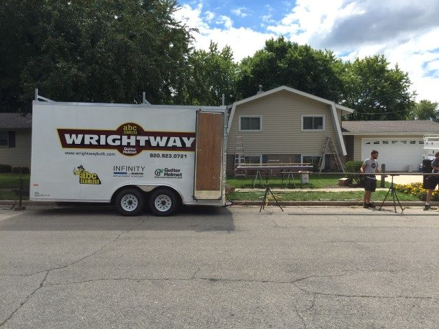 Wrightway seamless siding project