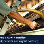Installation Specialist – Gutters
