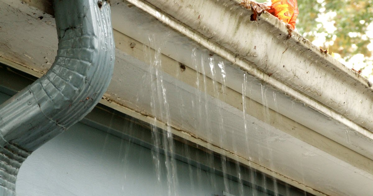 Why Do Gutter Leak And What Can Be Done To Fix The Leaks
