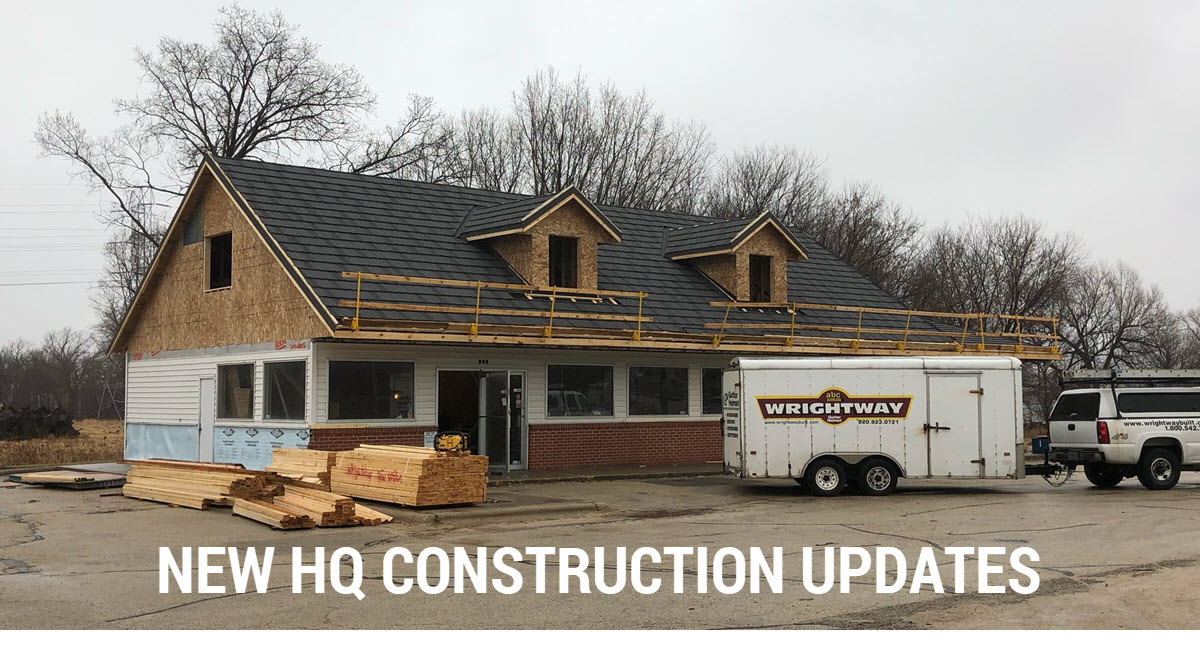 New Building Construction Updates For Wrightway Home